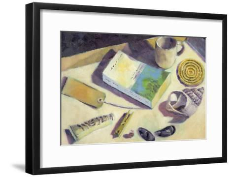 Holiday Reading-Sara Hayward-Framed Art Print