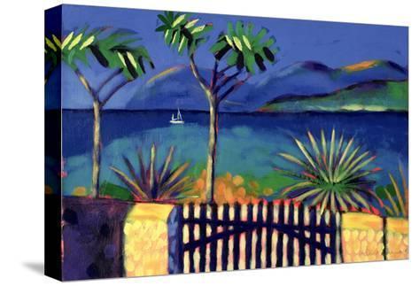 Mediterranean Garden-Sara Hayward-Stretched Canvas Print