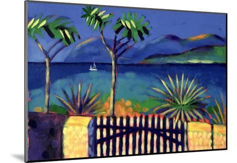 Mediterranean Garden-Sara Hayward-Mounted Giclee Print
