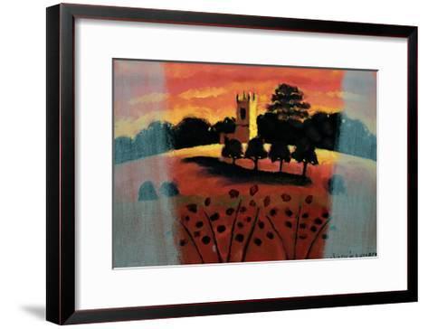 Church on the Severn-Sara Hayward-Framed Art Print