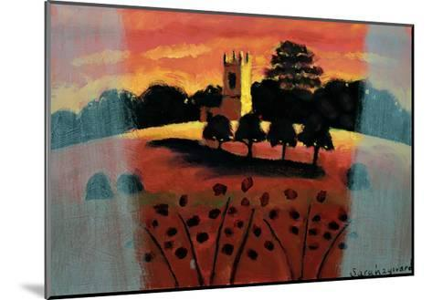 Church on the Severn-Sara Hayward-Mounted Giclee Print