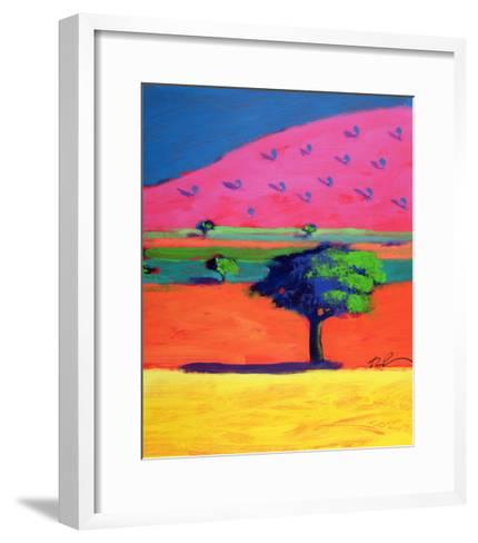Pink Hill-Paul Powis-Framed Art Print