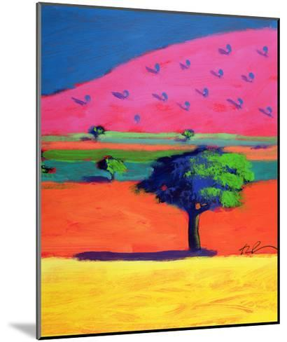 Pink Hill-Paul Powis-Mounted Giclee Print