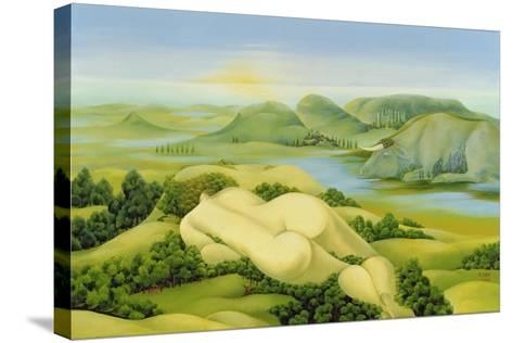 The Legend of Balaton, 2003-Magdolna Ban-Stretched Canvas Print