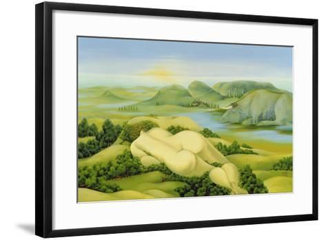 The Legend of Balaton, 2003-Magdolna Ban-Framed Art Print