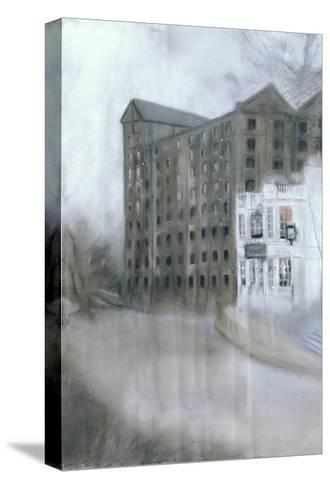 Mortlake Brewery (SW14, the Old Ship) 2005-Sophia Elliot-Stretched Canvas Print