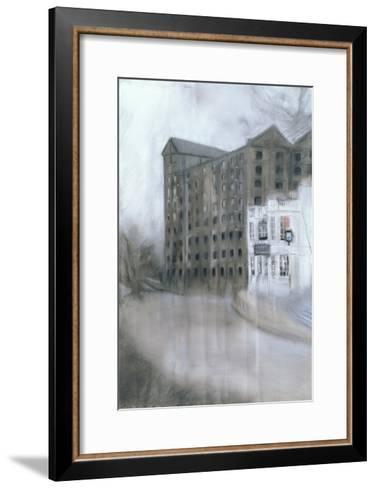 Mortlake Brewery (SW14, the Old Ship) 2005-Sophia Elliot-Framed Art Print