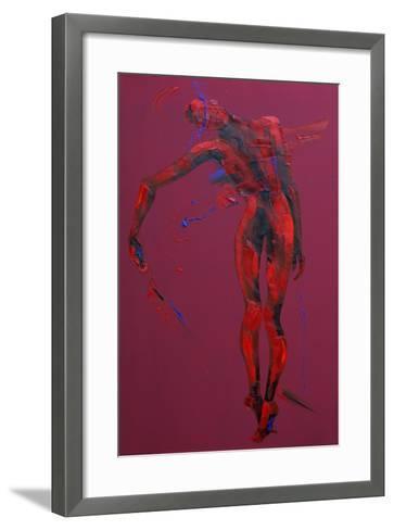 Jesus Is Taken Down from the Cross - Station 13-Penny Warden-Framed Art Print
