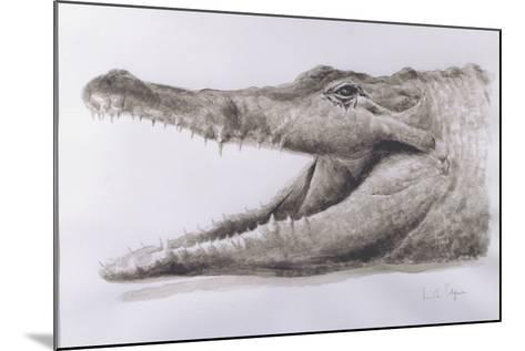 Crocodile, 2005-Lincoln Seligman-Mounted Giclee Print