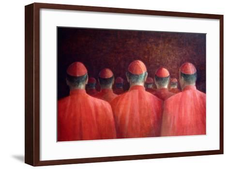 Cardinals, 2005-Lincoln Seligman-Framed Art Print