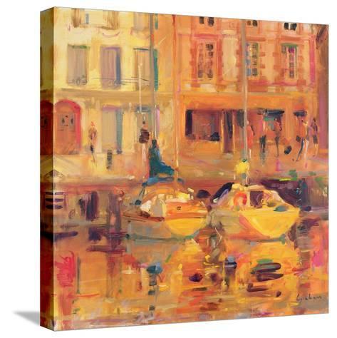 Les Deux Bateaux-Peter Graham-Stretched Canvas Print