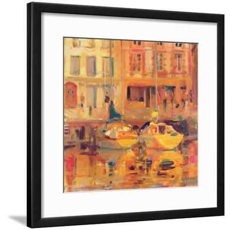 Les Deux Bateaux-Peter Graham-Framed Art Print