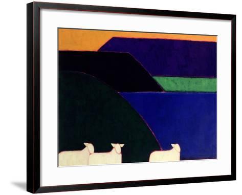 Fjord Snaefellness, 1999-Eithne Donne-Framed Art Print