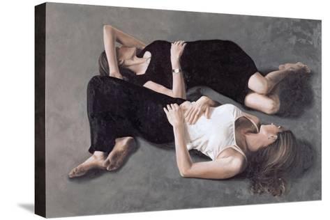 Sisters-John Worthington-Stretched Canvas Print