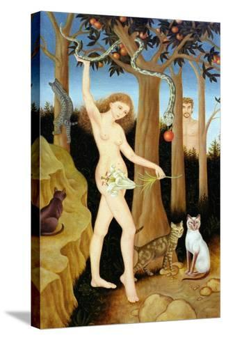 Adam and Eve, 1990-Patricia O'Brien-Stretched Canvas Print