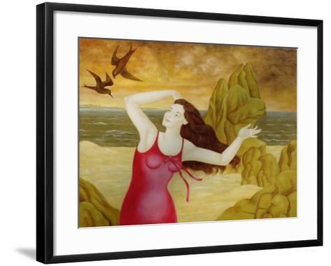 Flight II, 1998-Patricia O'Brien-Framed Art Print