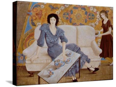 Afternoon Tea-Patricia O'Brien-Stretched Canvas Print