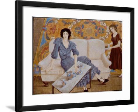 Afternoon Tea-Patricia O'Brien-Framed Art Print