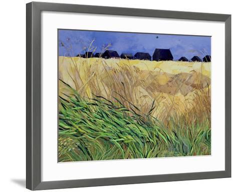Huts at Walberswick, Suffolk-Christine McKechnie-Framed Art Print