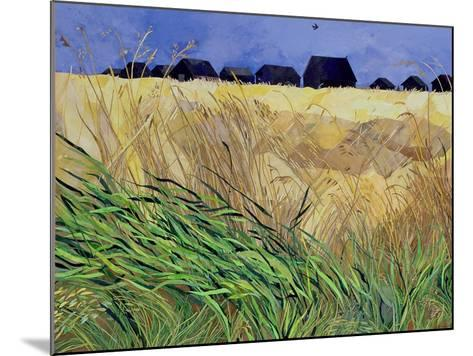 Huts at Walberswick, Suffolk-Christine McKechnie-Mounted Giclee Print
