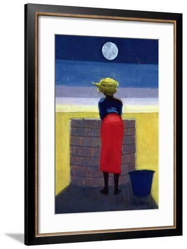 Moonlit Evening, 2001-Tilly Willis-Framed Art Print