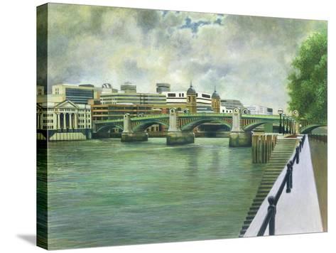Southwark Bridge-Isabel Hutchison-Stretched Canvas Print