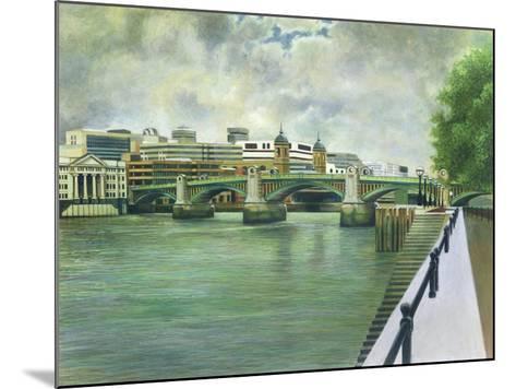 Southwark Bridge-Isabel Hutchison-Mounted Giclee Print