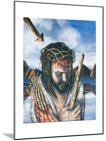 Jesus as the Man of Sorrows, 2003-Chris Gollon-Mounted Giclee Print