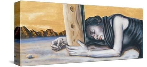 Study for 'Magdalene at the Base of the Crucifixion', 2003-Chris Gollon-Stretched Canvas Print