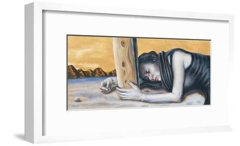 Study for 'Magdalene at the Base of the Crucifixion', 2003-Chris Gollon-Framed Art Print