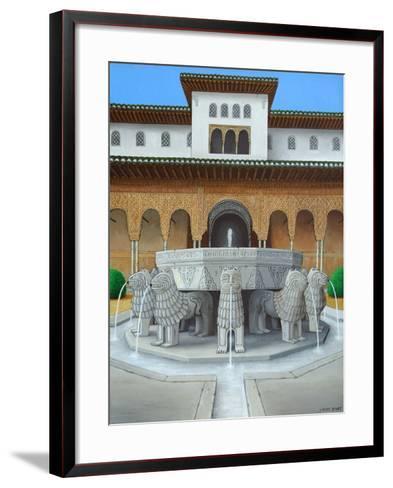 The Lion's Court-Larry Smart-Framed Art Print