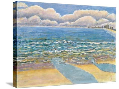 Evening, North Myrtle Beach-Patricia Eyre-Stretched Canvas Print