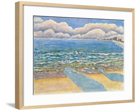 Evening, North Myrtle Beach-Patricia Eyre-Framed Art Print