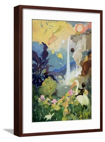 Fantasy Nature Scene-George Adamson-Framed Art Print