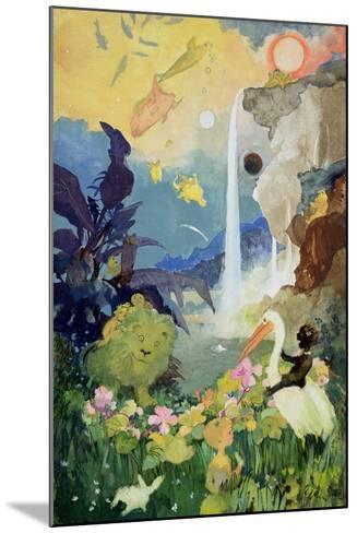 Fantasy Nature Scene-George Adamson-Mounted Giclee Print