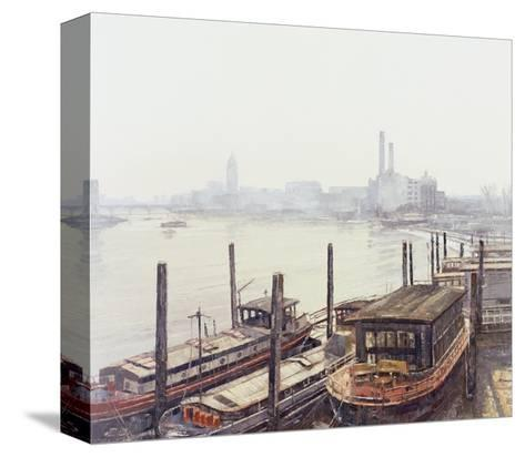 Chelsea Harbour, 2004-Tom Young-Stretched Canvas Print