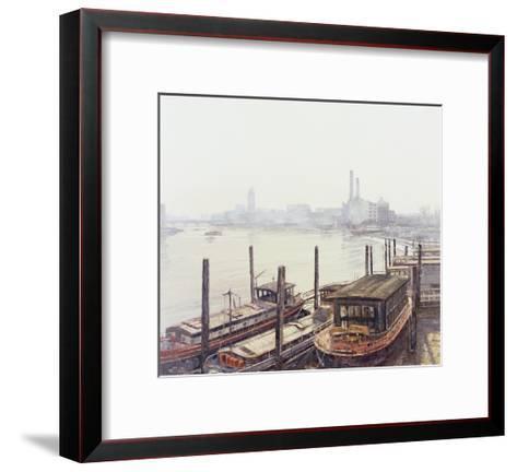 Chelsea Harbour, 2004-Tom Young-Framed Art Print