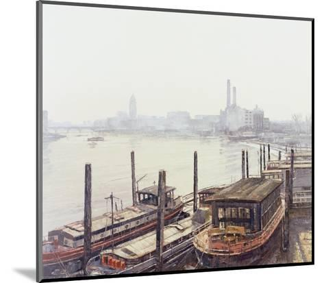Chelsea Harbour, 2004-Tom Young-Mounted Giclee Print