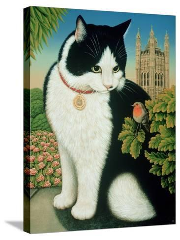 Humphrey, the Downing Street Cat, 1995-Frances Broomfield-Stretched Canvas Print
