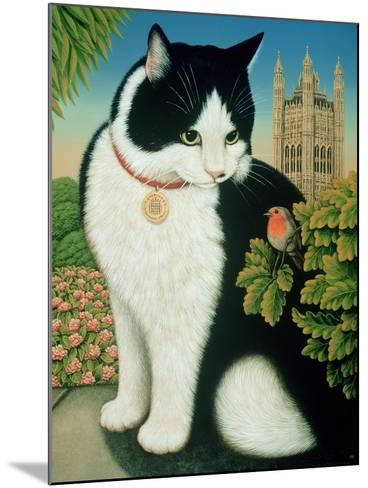 Humphrey, the Downing Street Cat, 1995-Frances Broomfield-Mounted Giclee Print