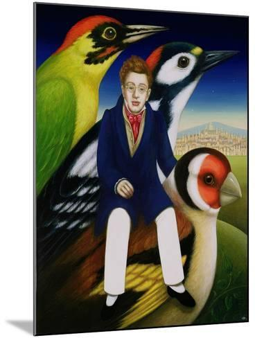 Schubert and the Language of Birds, 2000-Frances Broomfield-Mounted Giclee Print