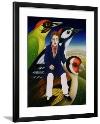 Schubert and the Language of Birds, 2000-Frances Broomfield-Framed Art Print