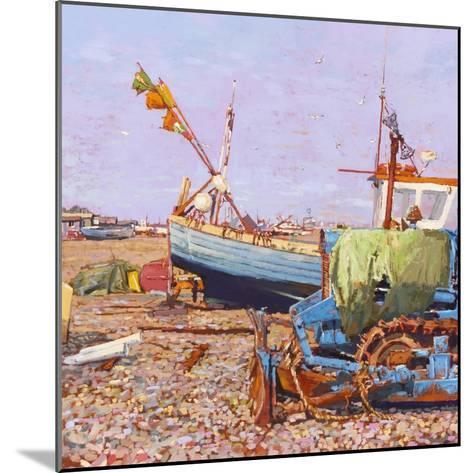 Clear Blue Day (Aldeburgh Beach) 2006-Martin Decent-Mounted Giclee Print