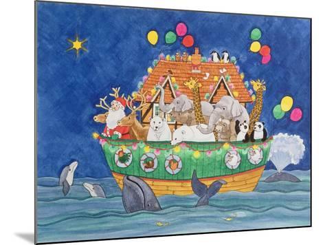 Santa's Ark-Linda Benton-Mounted Giclee Print