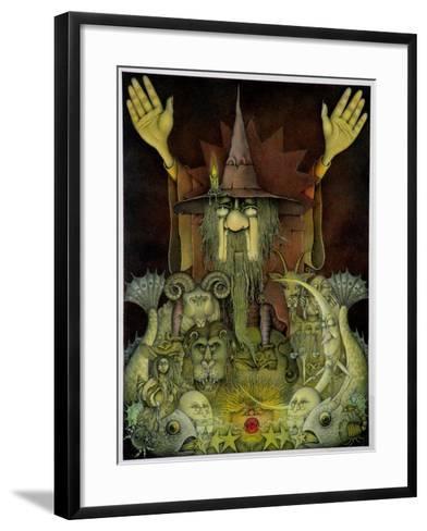 Zodiac Magician-Wayne Anderson-Framed Art Print
