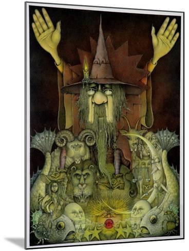 Zodiac Magician-Wayne Anderson-Mounted Giclee Print