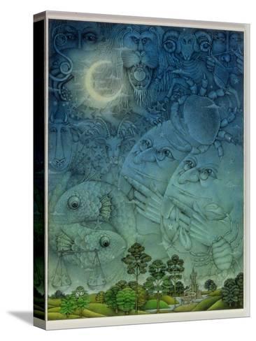 Zodiac Sky-Wayne Anderson-Stretched Canvas Print