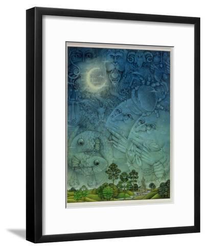 Zodiac Sky-Wayne Anderson-Framed Art Print