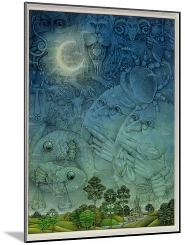 Zodiac Sky-Wayne Anderson-Mounted Giclee Print