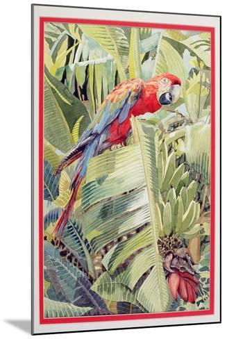 Jungle Parrot-Felicity House-Mounted Giclee Print